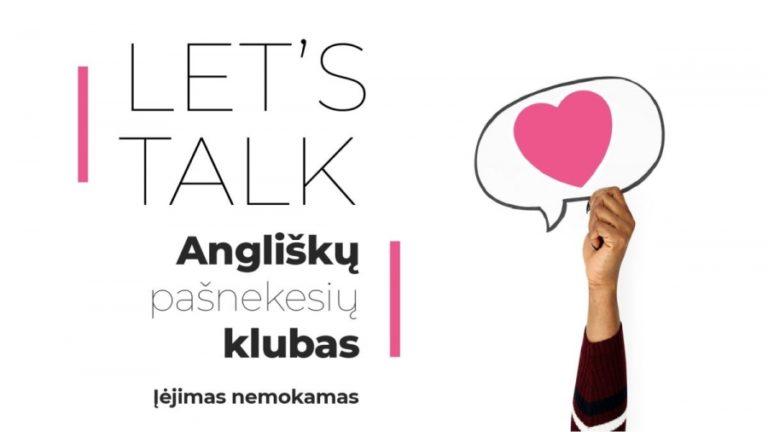 Lets Talk susitikimas