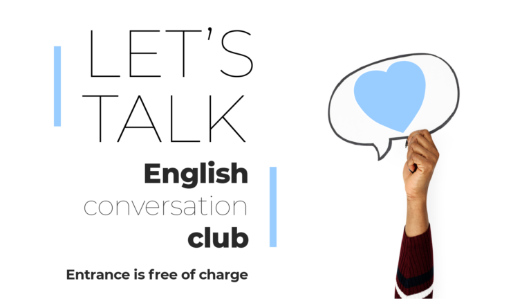 LET'S TALK – English Conversation Club