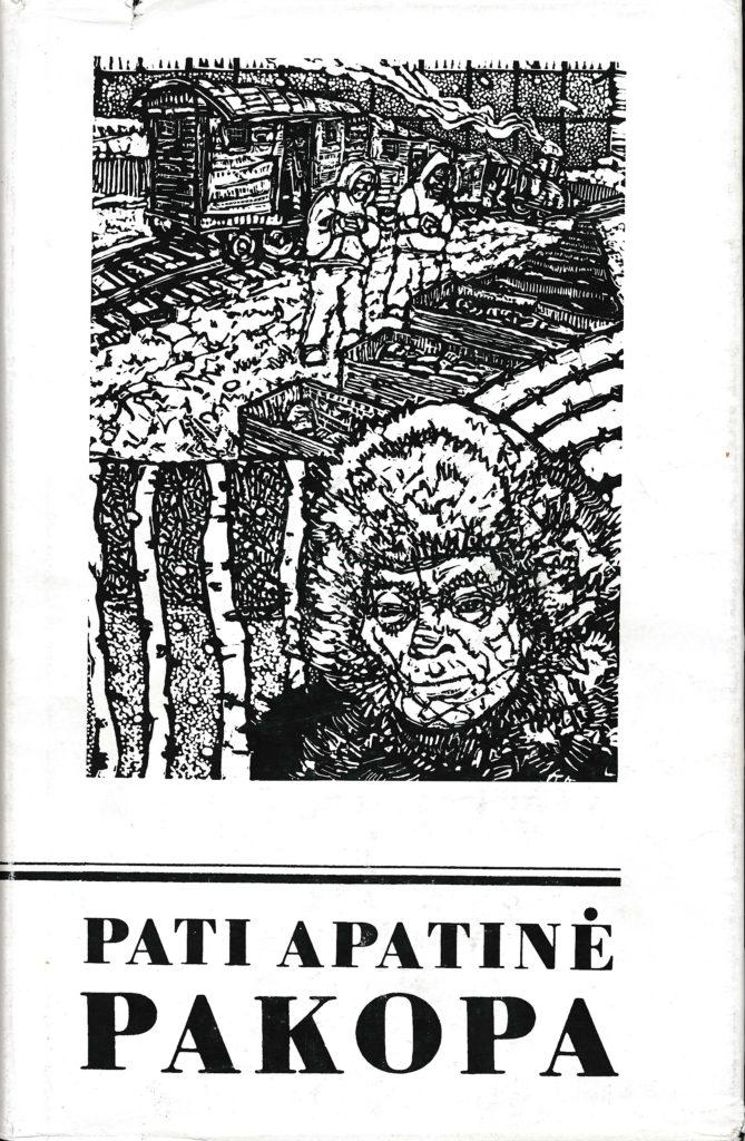 Pati apatinė pakopa : novelės; [apl. dail. Kęstutis Kizevičius]. – Chicago : [Algimanto Mackaus knygų leidimo fondas], 1992 (Chicago : M. Morkūno sp.). – 243, [1] p. PAVB b32294