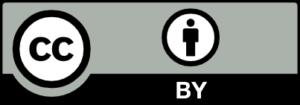 Creative Commons BY licencijos mygtukas
