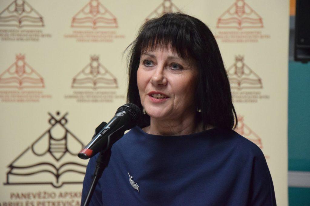 Lietuvos savivaldybių viešųjų bibliotekų asociacijos prezidentė Danguolė Abazoriuvienė