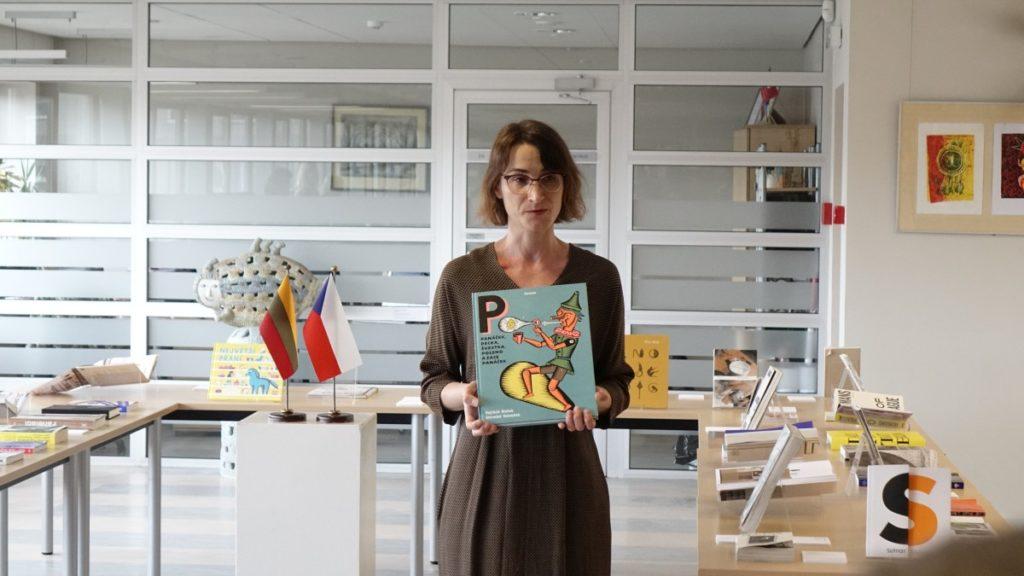 Gražiausios Čekijos knygos. Parodos iniciatorė Sigutė Chlebinskaitė