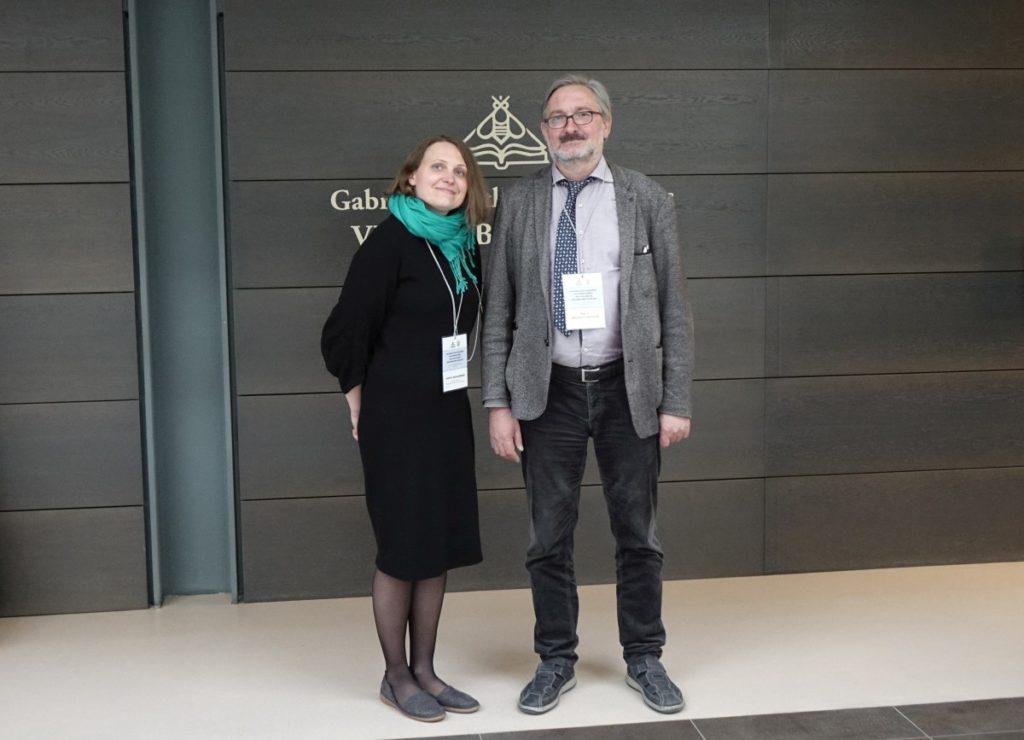 Jurgita Bugališkienė ir prof. dr. Arvydas Pacevičius