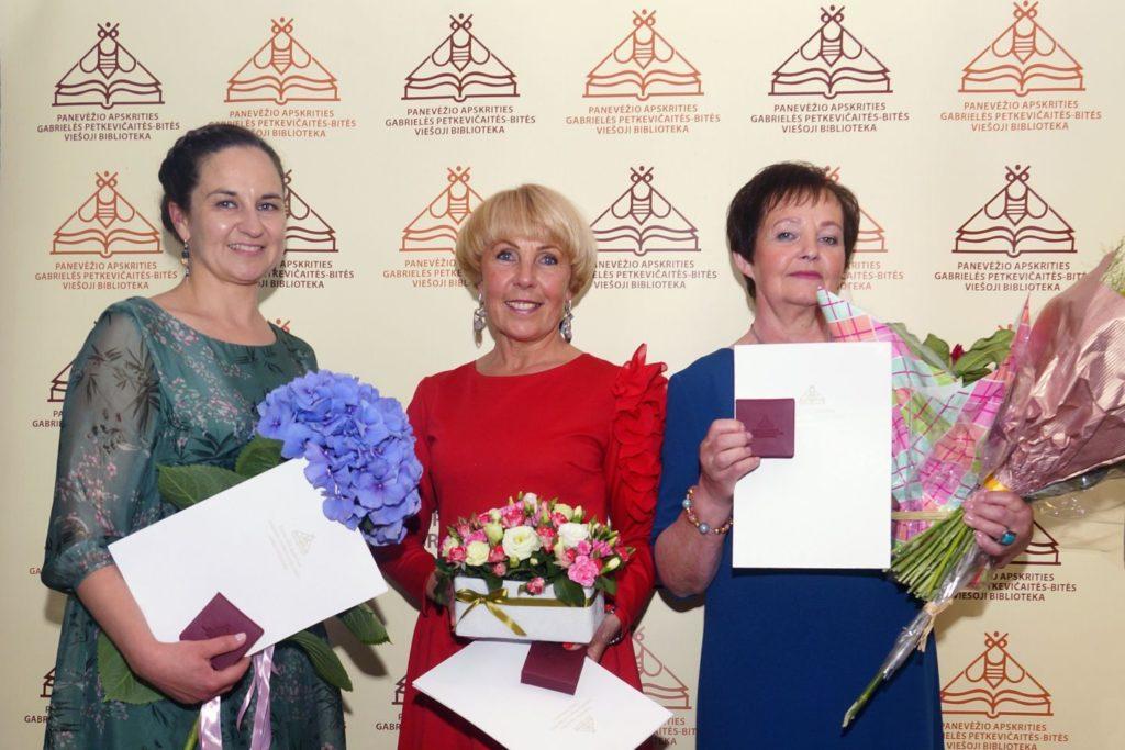 Laura Šinkūnienė, Audronė Berezauskienė, Vanda Laurinavičienė