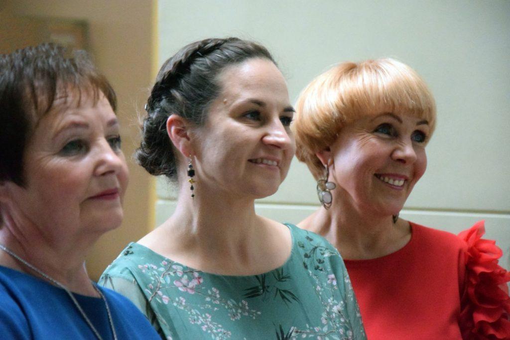 Vanda Laurinavičienė, Laura Šinkūnienė, Audronė Berezauskienė