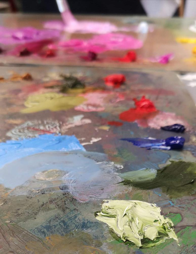 Dailės studijos IN tapybos darbų paroda