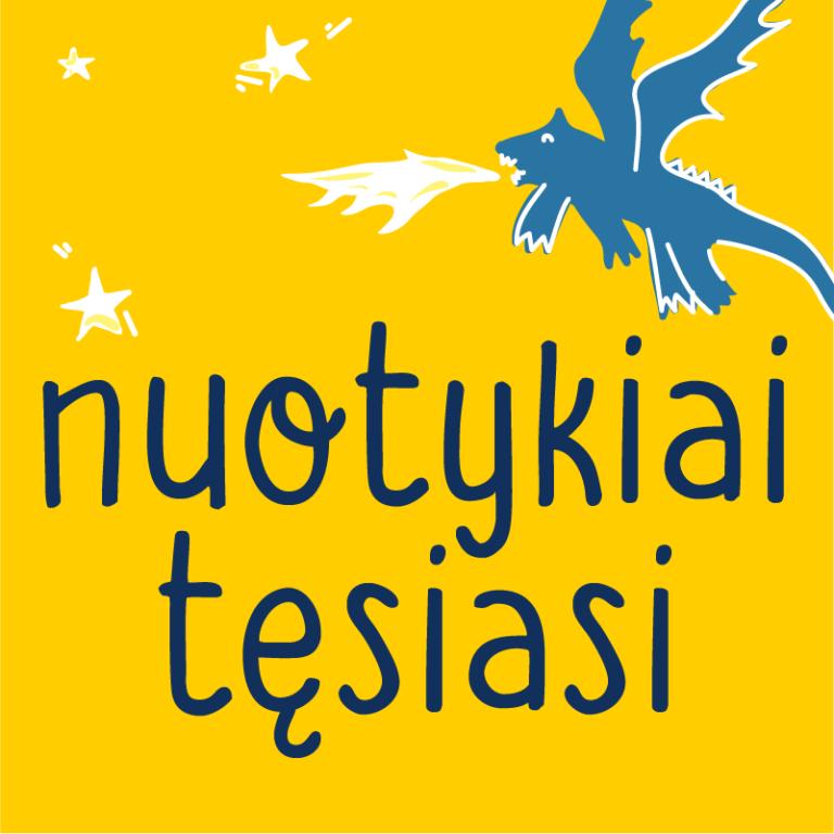 Nuotykiai tęsiasi logo