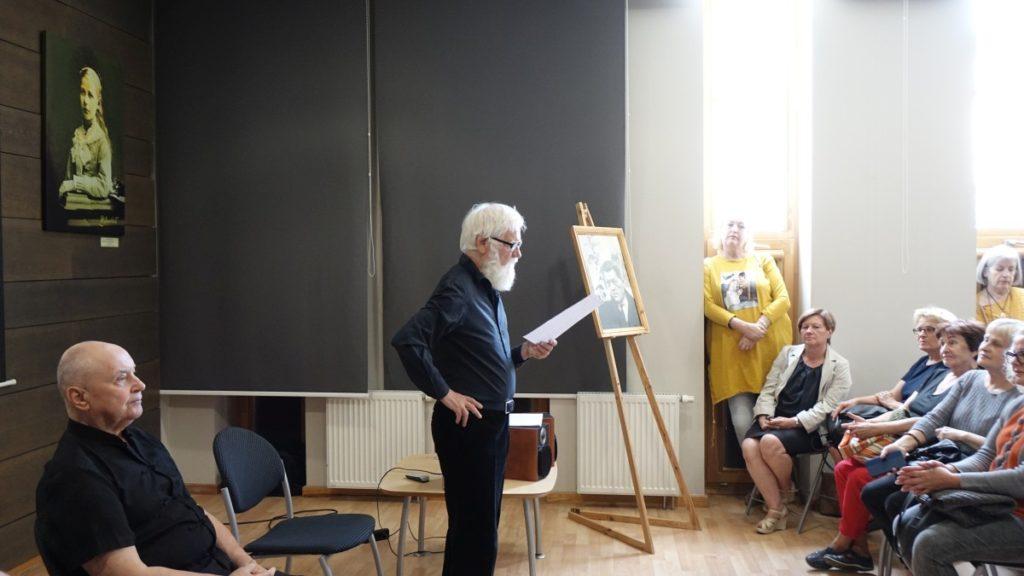 Pauliaus Širvio atminimo vakaras. Č. Stonio literatūrinė-muzikinė kompozicija.