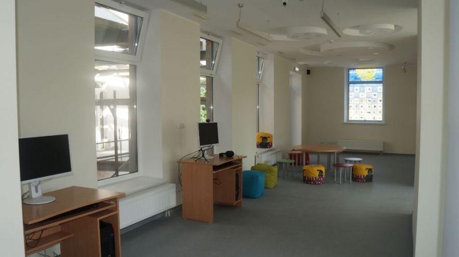 Pristatyti bibliotekos renovacijos darbai