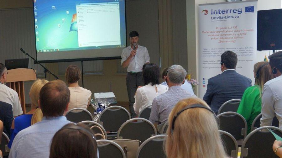 Konferenciją veda Žygimantas Matulas