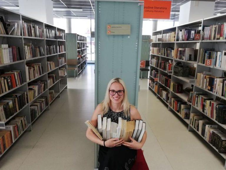 Bibliotekos savanorė Adelė
