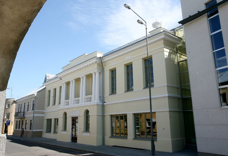 Bibliotekos fasadas