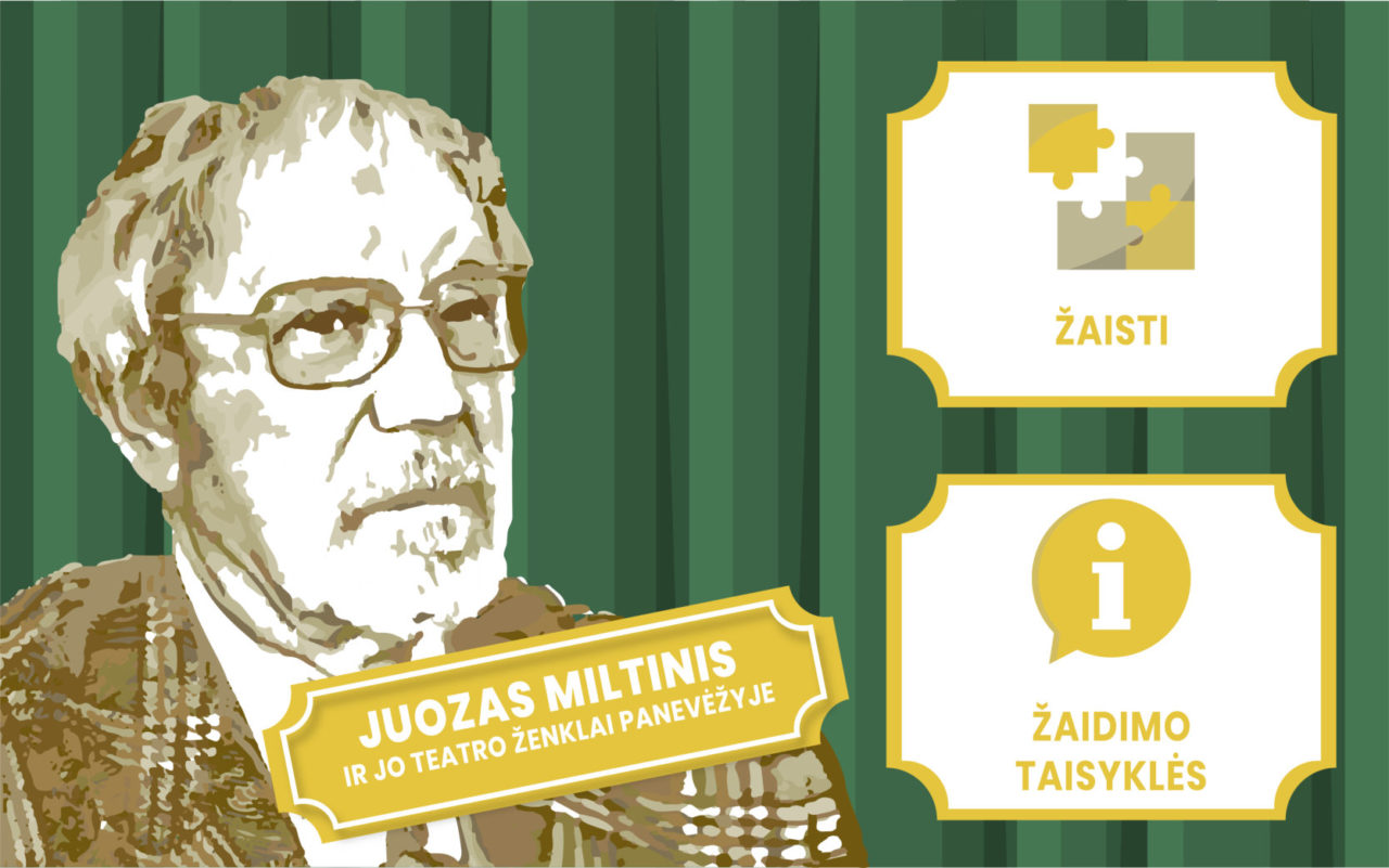Juozas Miltinis ir jo teatro ženklai Panevėžyje virtualiai. Sklaidai.doc