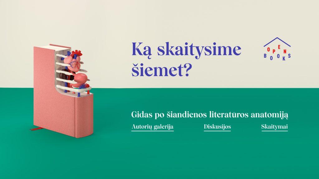 Knygų mylėtojus kviečia naujas literatūros festivalis