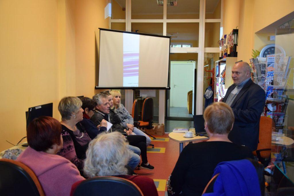 Susitikimas Zarasų rajono savivaldybės viešojoje bibliotekoje