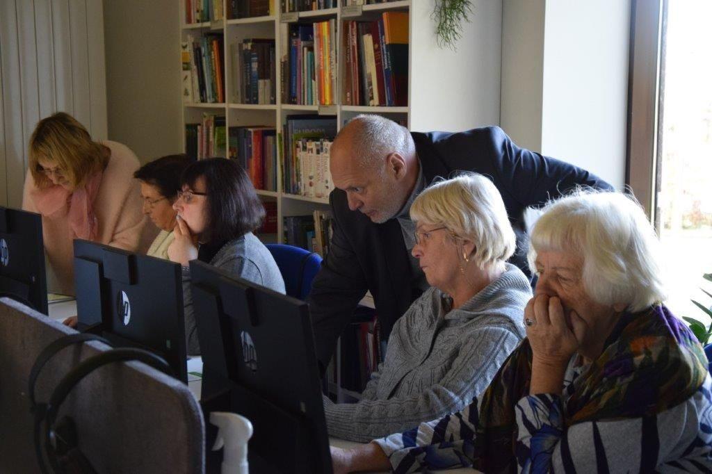 Susitikimas Anykščių rajono savivaldybės L. ir S. Didžiulių viešojoje bibliotekoje
