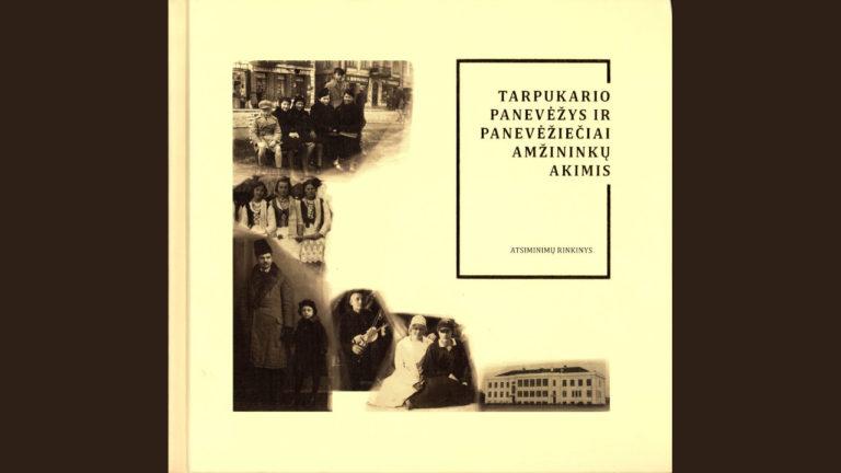 Knygos viršelis Tarpukario Panevėžys
