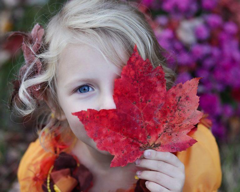 kid and autumn