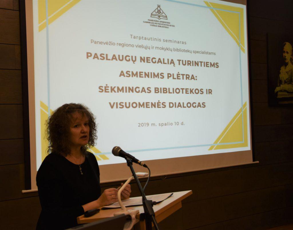 Lietuvos Respublikos Kultūros ministerijos Atminties institucijų politikos grupės vyriausioji specialistė G. Lamanauskienė