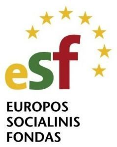 Europos socialinis fondas logo