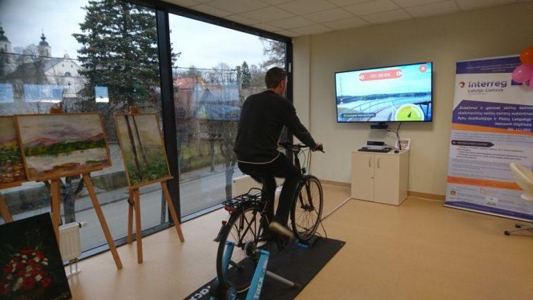 interaktyvus dviratis