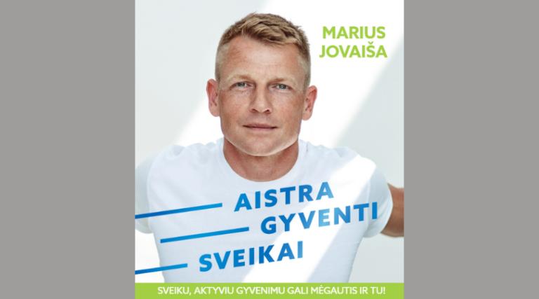 """Mariaus Jovaišos knygos """"Aistra gyventi sveikai"""" viršelis"""