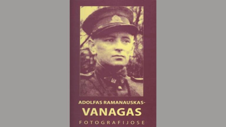 """Knygos-albumo ,,Adolfas Ramanauskas-Vanagas fotografijose"""" viršelis"""