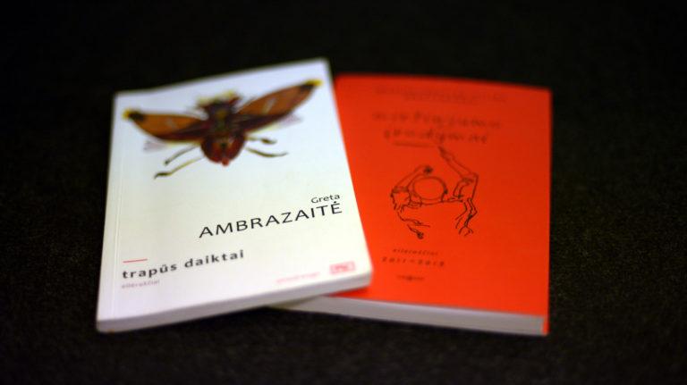 G. Ambrazaitės ir M.P.E. Martynenko knygos