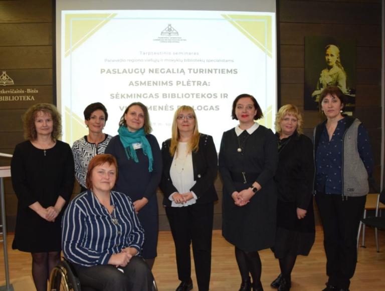 Tarptautinis seminaras Gabrielės Petkevičaitės-Bitės bibliotekoje
