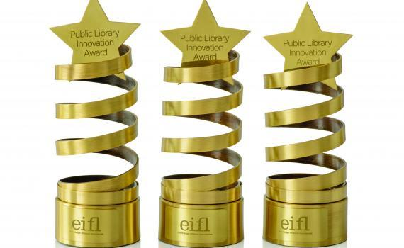 EIFL apdovanojimas