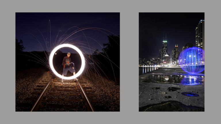 Andrius Sprindys ir jo piešimo šviesa fotografijos