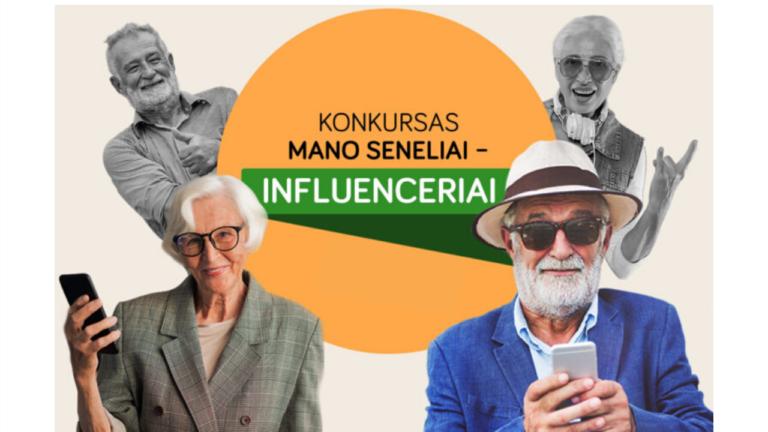 """Konkursas """"Mano seneliai – influenceriai"""""""
