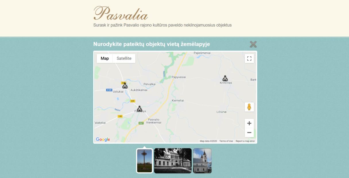Pasvalia - žaidimas
