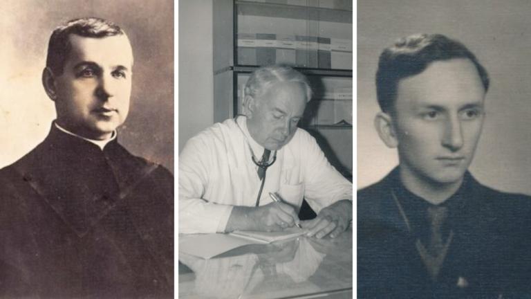 Jurgis Tilvytis-Žalvarnis, Algirdas Neveravičius, Vytautas Vilkončius