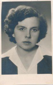 Irena Moigytė. Panevėžys. 1959 m. PAVB F96-147