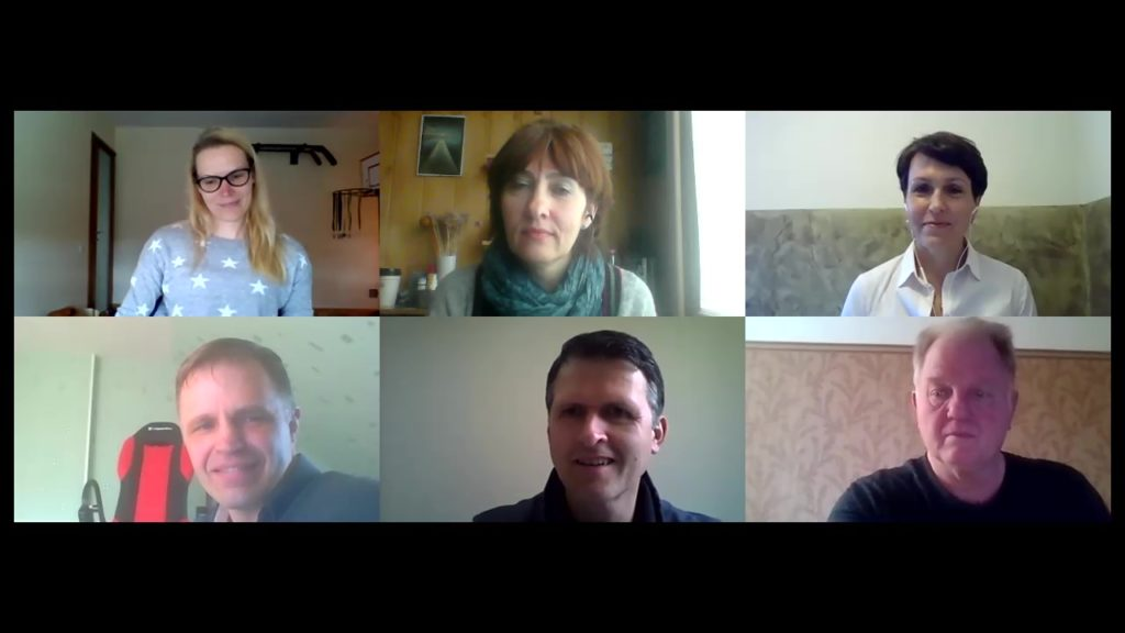 Let's talk klubo virtualus susitikimas