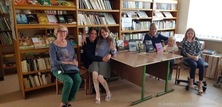 Popietė Burbiškio bibliotekoje