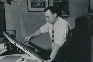 Albertas Stepanka. Panevėžys. 1960 m. PAVB F28-18