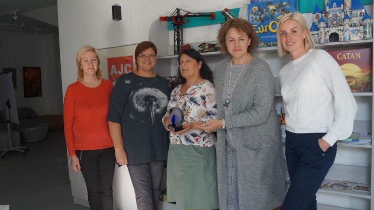 Vaikų ir jaunimo draugo nominacija Pasvalio bibliotekai