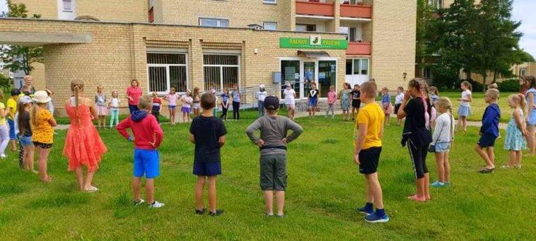 Vasaros stovyklos mažiesiems panevėžiečiams