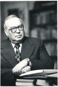 Eugenijus Matuzevičius. Fotogr. Arnoldo Baryso. Vilnius. 1987. PAVB F7-40