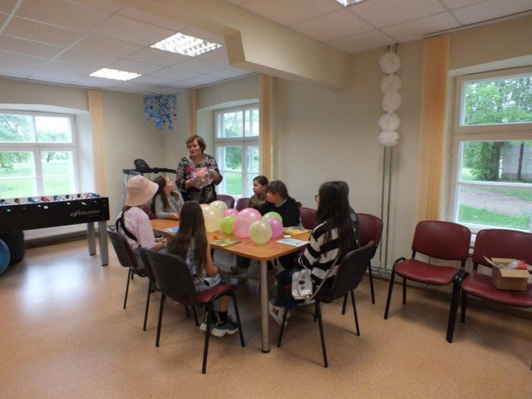 Vaikų dienos centro laisvalaikis