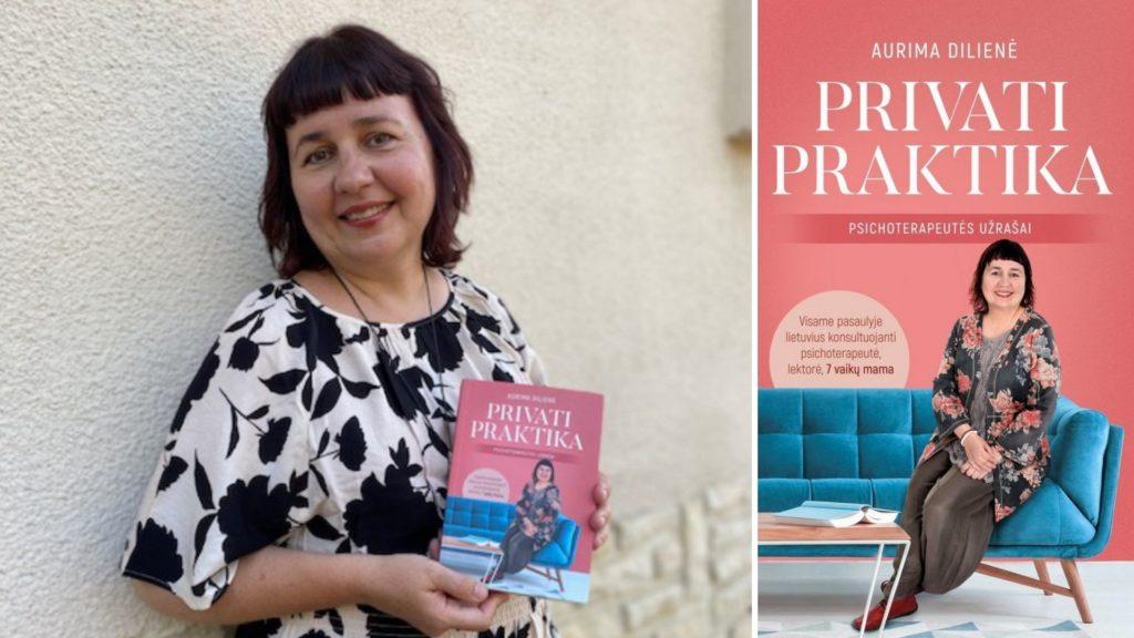 Susitikimas su rašytoja, psichoterapeute Aurima Diliene (Prancūzija)