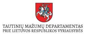 Tautinių mažumų departamentas logotipas
