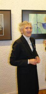 Staselė Mikeliūnienė su kolegomis
