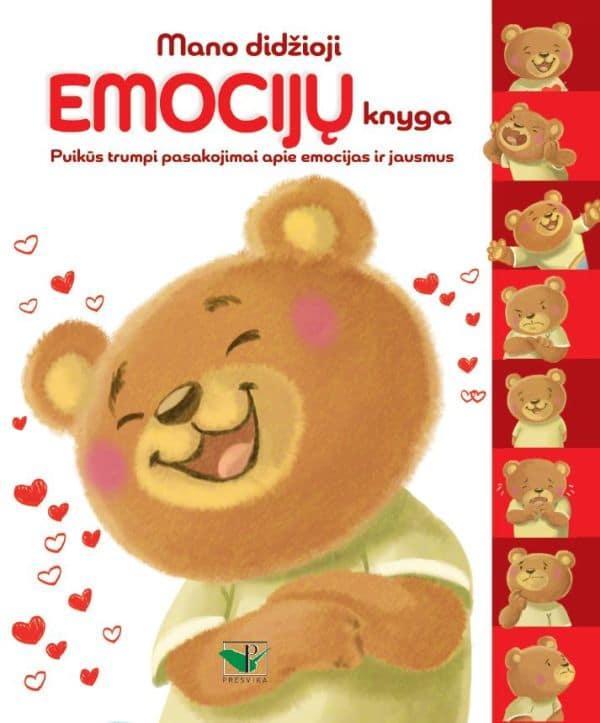 Mano didžioji emocijų knyga