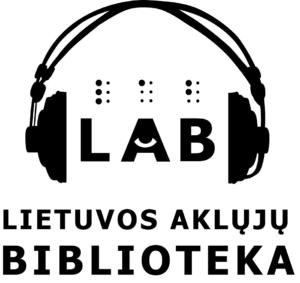 Lietuvos aklųjų bibliotekos logotipas