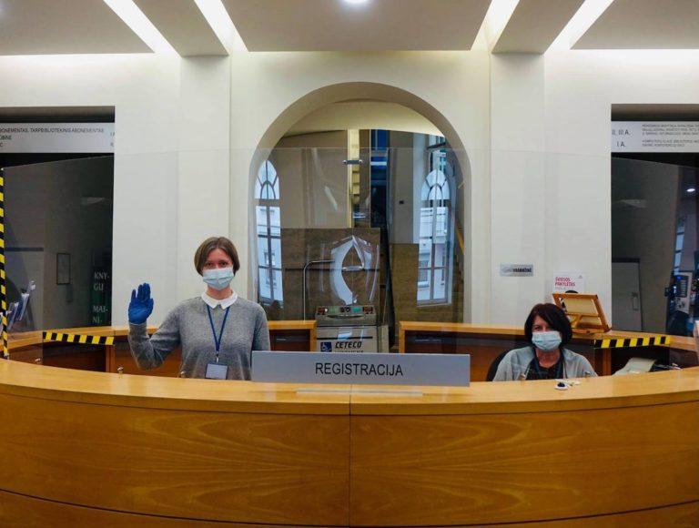 Bibliotekos darbuotojai