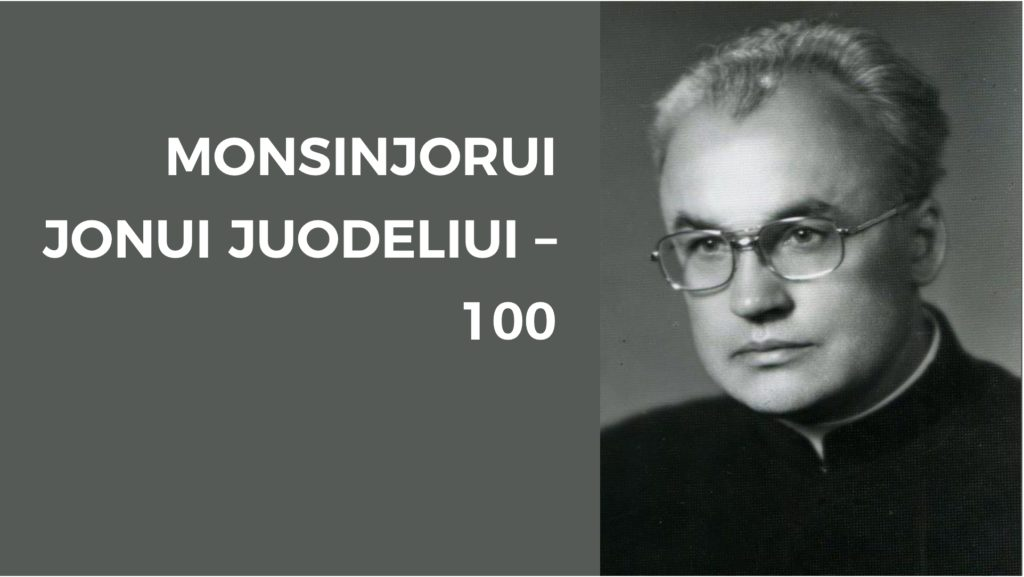 Atminimo vakaras Panevėžio miesto garbės piliečiui monsinjorui Jonui Juodeliui