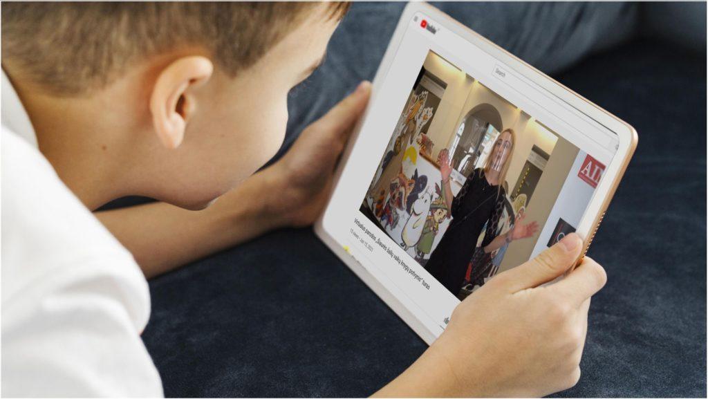 """""""Šiaurės šalių vaikų knygų potvynis"""" kviečia į virtualų parodos turą"""